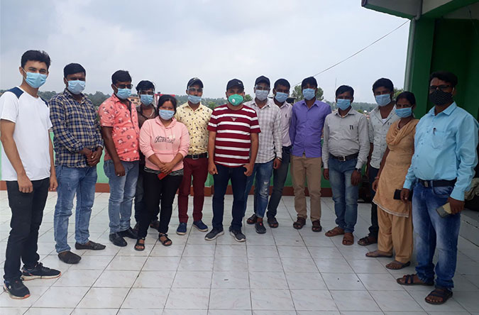 Team completes yet another back-breaking project Amidst Pandemic